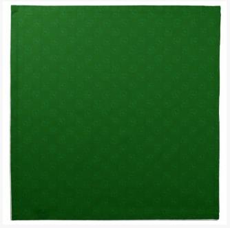 Green Swirly Shamrock Napkins on DogwoodandThistle.com