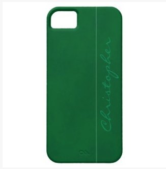 Signature Mottled Hunter Green iPhone 5/5S Case