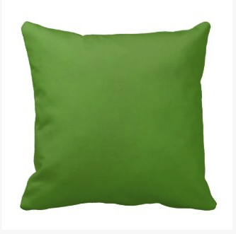 Mottled Lime Green Throw Pillow on dogwoodandthistle.com