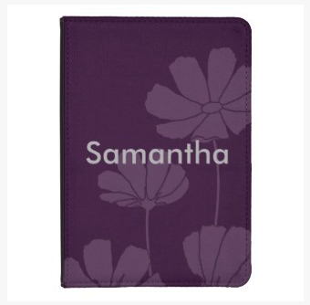 aubergine cosmos kindle 4 or touch case