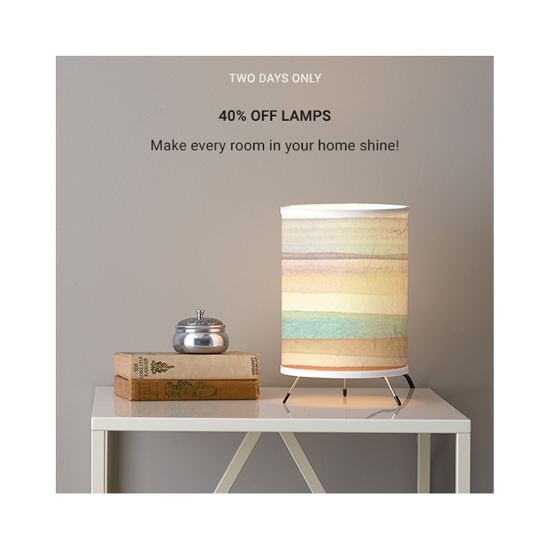 50% off lamps at Zazzle