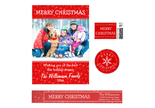 Always Christmas Photo Greeting Card